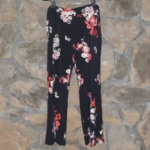 Alfani printed wide leg pants flower women plus 3X